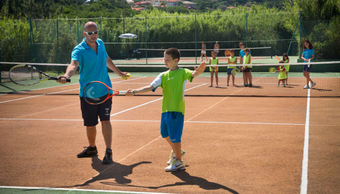 Sports holidays for children in the North of Sardinia